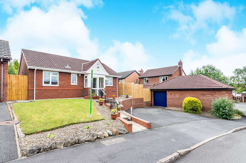 2 Bedrooms Detached Bungalow for sale in Botfield Close, Randlay, Telford, TF3