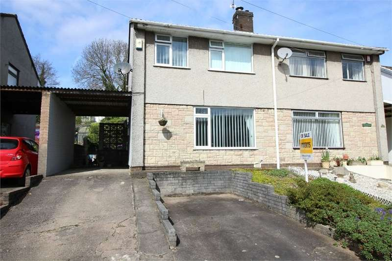 3 Bedrooms Semi Detached House for sale in Glencourt, Sebastopol, Pontypool, NP4