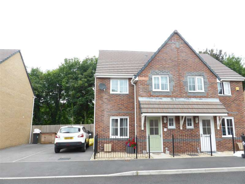 3 Bedrooms Semi Detached House for sale in 117 Cae Morfa, Skewen, Neath