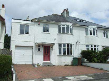 5 Bedrooms Semi Detached House for sale in Plymouth, Devon
