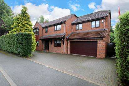 4 Bedrooms Detached House for sale in Lings Lane, Wickersley, Rotherham, South Yorkshire