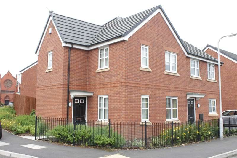 3 Bedrooms Semi Detached House for sale in Brett street, birkenhead, Wirral, CH41