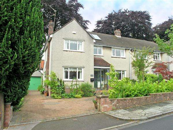 3 Bedrooms Semi Detached House for sale in Verlands Close, Llandaff, CARDIFF