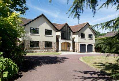 5 Bedrooms Detached House for sale in Forest Ridge, Keston Park