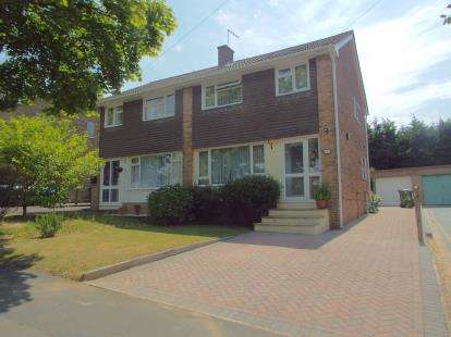 3 Bedrooms Semi Detached House for sale in Chandler's Ford, Eastleigh, Hampshire