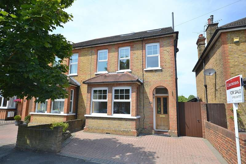 4 Bedrooms Semi Detached House for sale in Walton on Thames