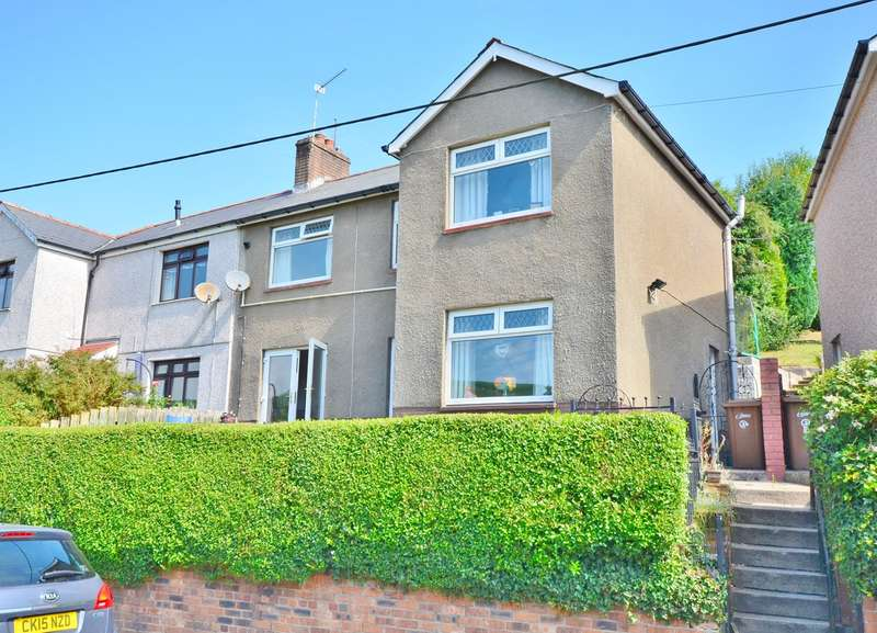 3 Bedrooms Semi Detached House for sale in Dan Y Graig, Abertridwr, Caerphilly, CF83