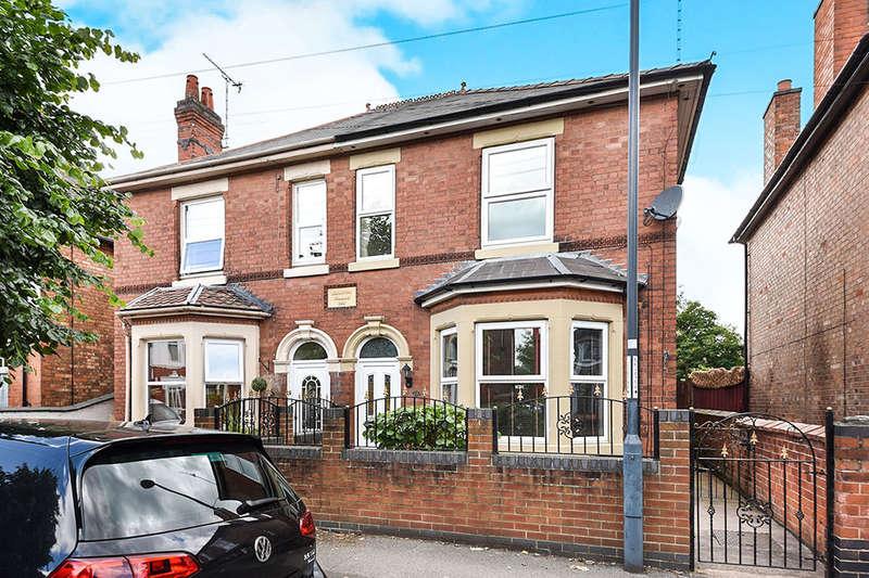 3 Bedrooms Semi Detached House for sale in Coronation Avenue, Alvaston, Derby, DE24