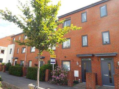 4 Bedrooms Terraced House for sale in Auger Way, Waterlooville, Hampshire
