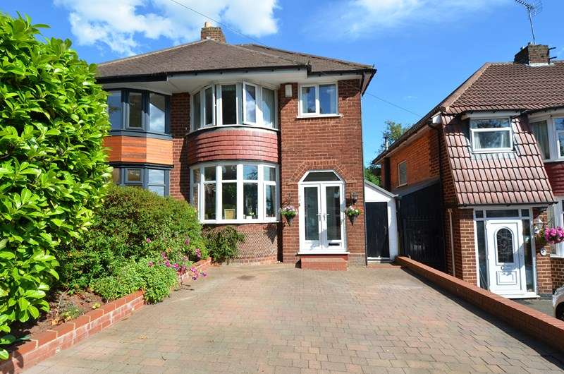 3 Bedrooms Semi Detached House for sale in Yarningale Road, Kings Heath, Birmingham
