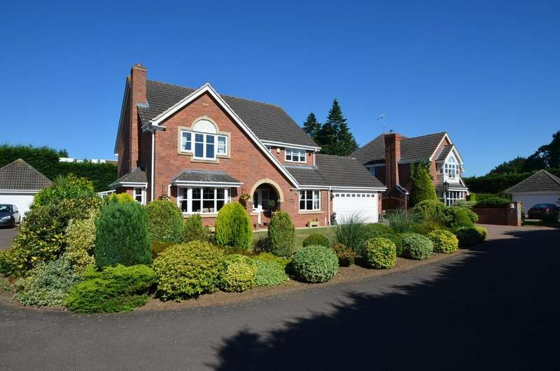 4 Bedrooms Detached House for sale in Highgrove, Rugby