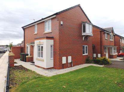 3 Bedrooms Detached House for sale in Harris Drive, Bootle, Liverpool, Merseyside, L20