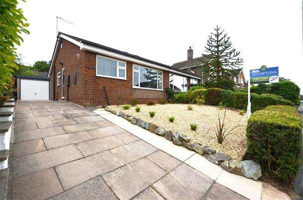2 Bedrooms Semi Detached Bungalow for sale in Nursery Avenue, Stockton Brook, Stoke-On-Trent