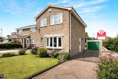 3 Bedrooms Detached House for sale in Oakworth Drive, Halfway, Sheffield, South Yorkshire