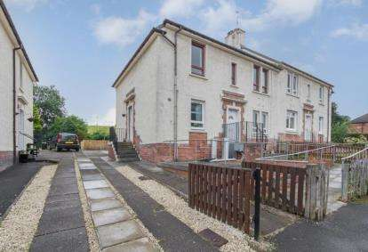 2 Bedrooms Flat for sale in Burn Terrace, Cambuslang, Glasgow, South Lanarkshire