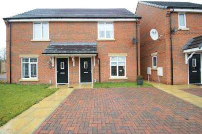 2 Bedrooms Semi Detached House for sale in Highfield Avenue, Langwith Junction, Mansfield, Derbyshire