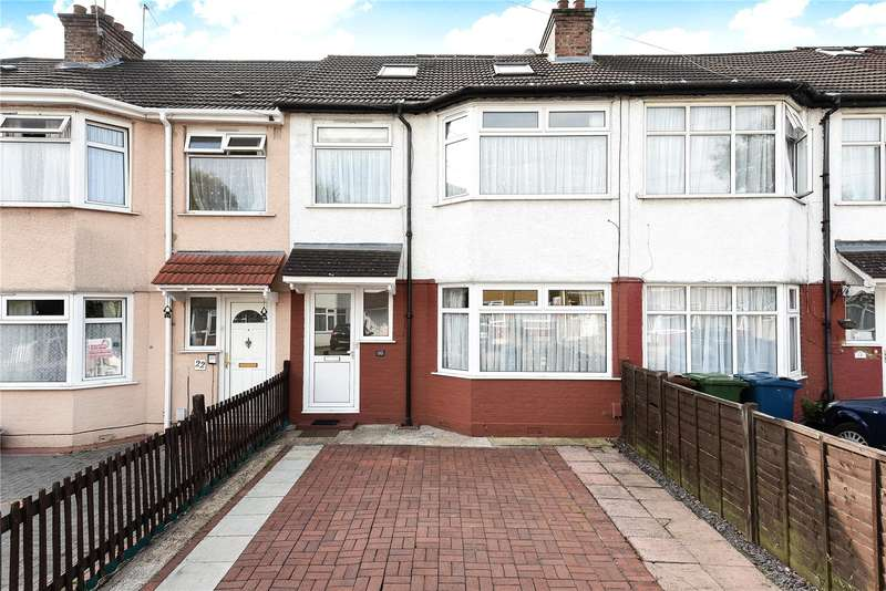 4 Bedrooms Terraced House for sale in Grange Road, Harrow, Middlesex, HA1
