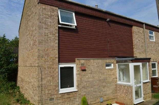 3 Bedrooms End Of Terrace House for sale in Oldenmead Court, Lings, Northampton NN3 8LU