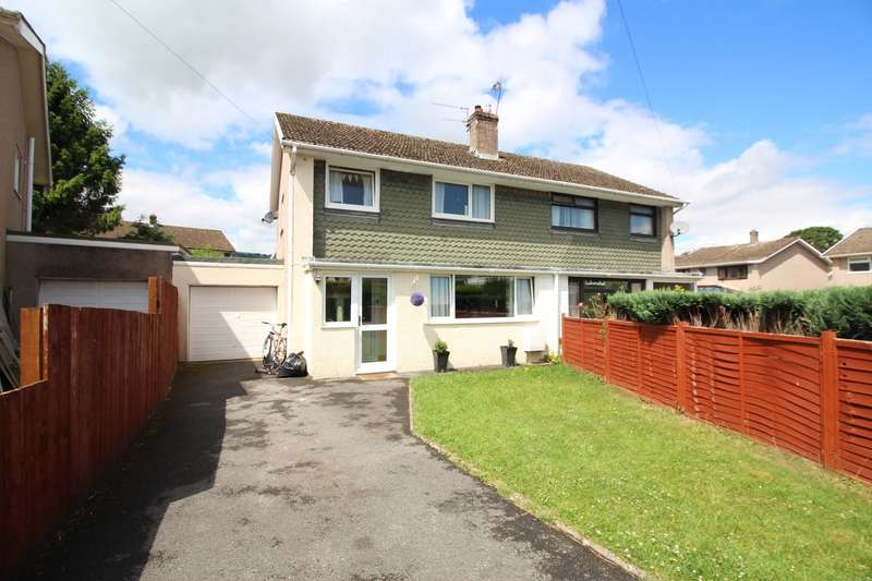 3 Bedrooms Semi Detached House for sale in Hillview, Gilwern, Abergavenny, NP7