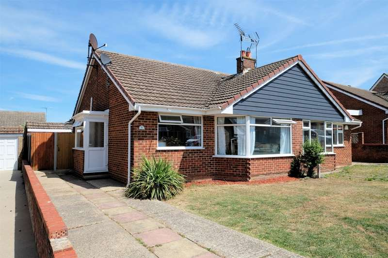 2 Bedrooms Semi Detached Bungalow for sale in Anthony Crescent, WHITSTABLE, Kent