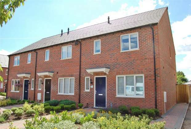 3 Bedrooms End Of Terrace House for sale in 17 Jasmine Way, Bilton, Rugby, Warks