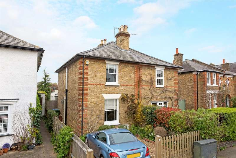 2 Bedrooms Semi Detached House for sale in Summer Road, East Molesey, Surrey, KT8