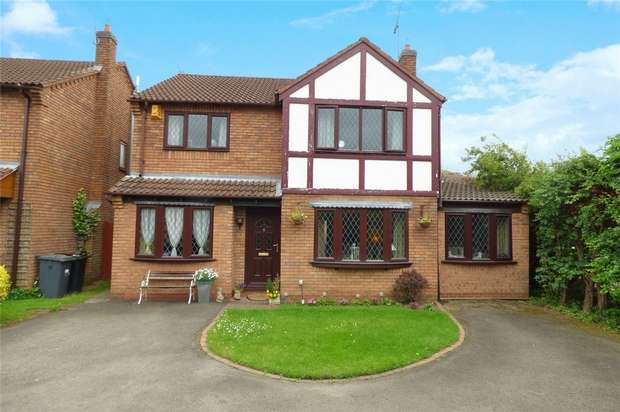 4 Bedrooms Detached House for sale in Canterbury Way, St Nicolas Park, Nuneaton, Warwickshire