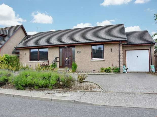 2 Bedrooms Detached Bungalow for sale in Auchleven, Insch, Aberdeenshire