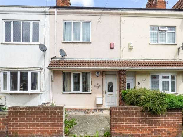 3 Bedrooms Terraced House for sale in Cromwell Road, Grimsby, Lincolnshire