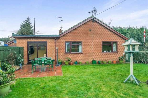 3 Bedrooms Detached Bungalow for sale in Railway Lane North, Sutton Bridge, Spalding, Lincolnshire