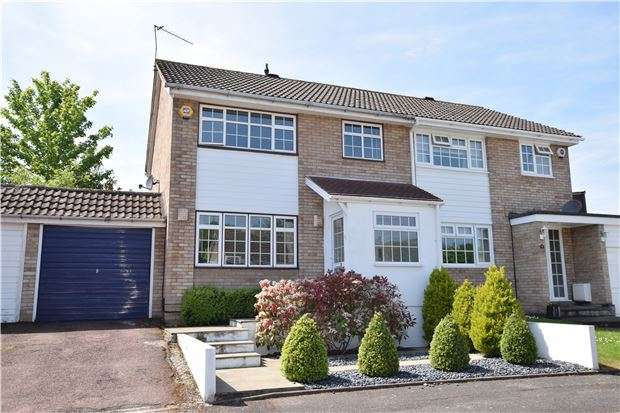3 Bedrooms Semi Detached House for sale in Arne Grove, ORPINGTON, Kent, BR6 9TT