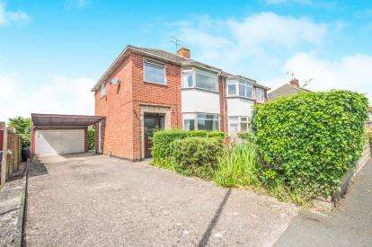 3 Bedrooms Semi Detached House for sale in Coppice Road, Whitnash, Leamington Spa, Uk