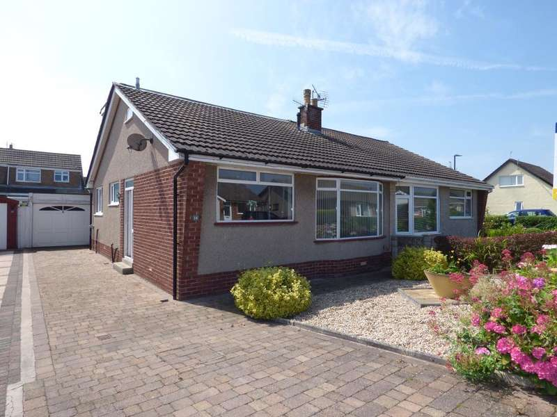 3 Bedrooms Semi Detached Bungalow for sale in Lawnswood Drive, Westgate, Morecambe, LA3 3LT