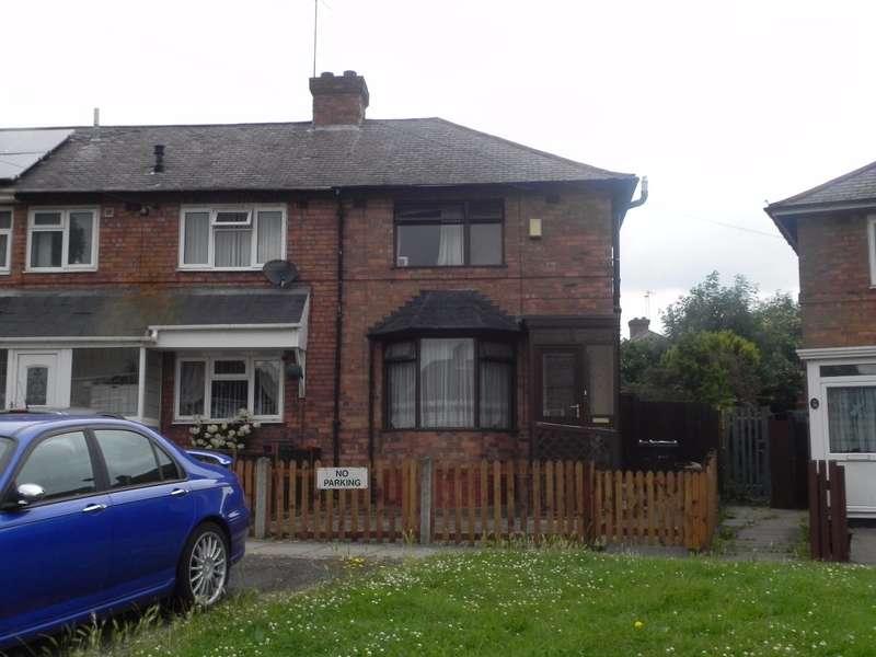 2 Bedrooms End Of Terrace House for sale in Belvedere Road, Erdington, Birmingham, B24 9RN