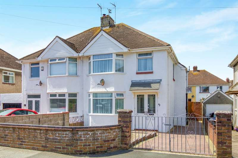 3 Bedrooms Semi Detached House for sale in Nicholls Avenue, Porthcawl