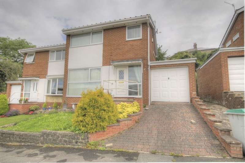 3 Bedrooms Semi Detached House for sale in Priory Close, Shotley Bridge, Consett, DH8