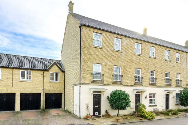 4 Bedrooms End Of Terrace House for sale in Ripley Close, Kingsmead