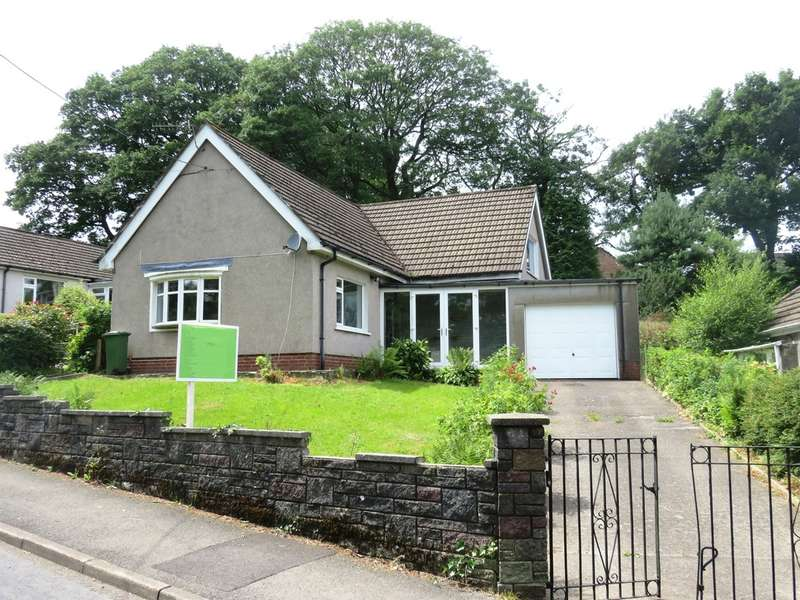 4 Bedrooms Detached Bungalow for sale in Heol Fargoed, Bargoed