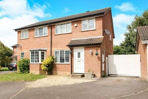 3 Bedrooms Semi Detached House for sale in Magnolia Tree Road, BRIDGWATER, TA6