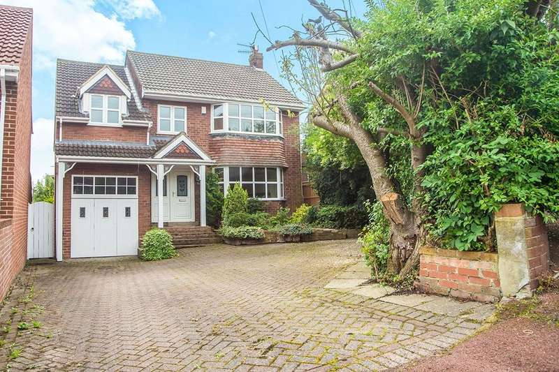 4 Bedrooms Detached House for sale in Crowley Avenue, Whickham, Newcastle Upon Tyne, NE16