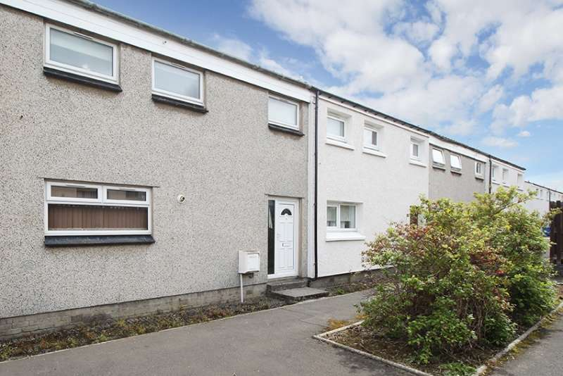 3 Bedrooms Terraced House for sale in Fergus Avenue, Livingston, EH54 6BG