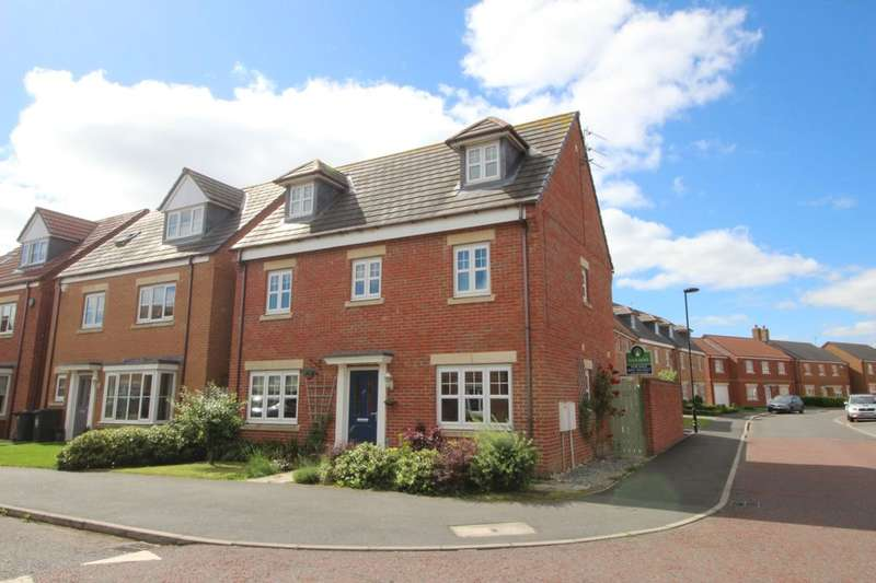4 Bedrooms Detached House for sale in Earlsmeadow, Shiremoor, Newcastle Upon Tyne, NE27
