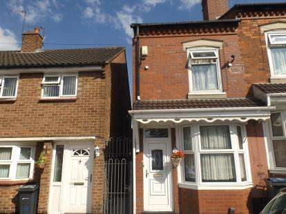 3 Bedrooms End Of Terrace House for sale in Reginald Road, Alum Rock, Birmingham, West Midlands