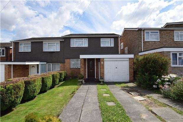 3 Bedrooms Semi Detached House for sale in Wade Avenue, ORPINGTON, Kent, BR5 4EJ