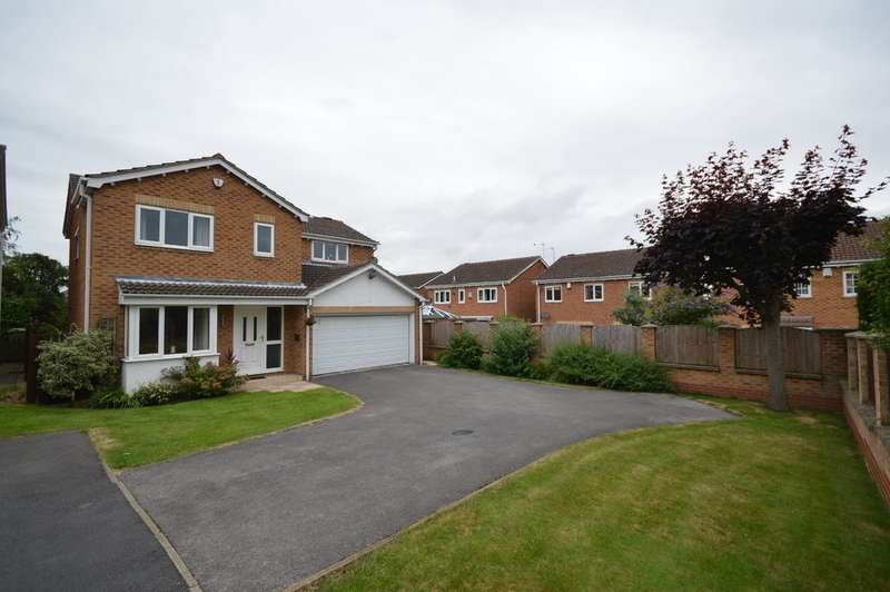 4 Bedrooms Detached House for sale in Kingfisher Close, Durkar, Wakefield