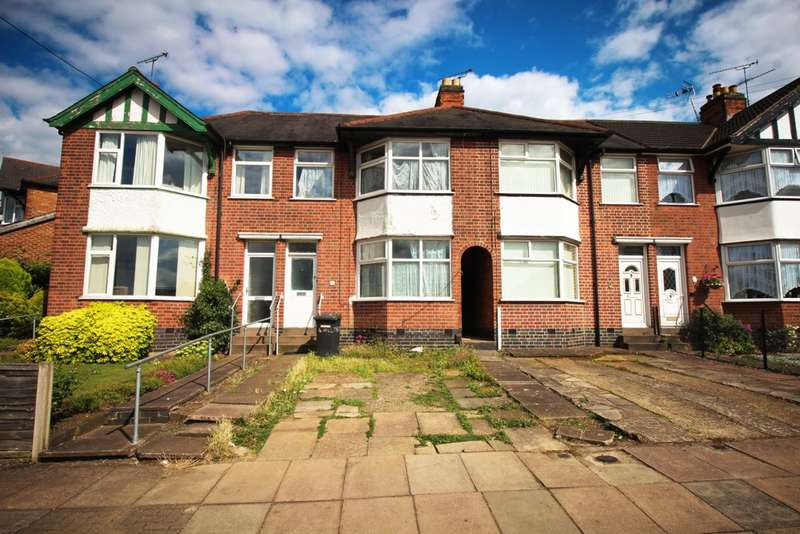 3 Bedrooms Terraced House for sale in Hillcroft Road, North Evington, LE5