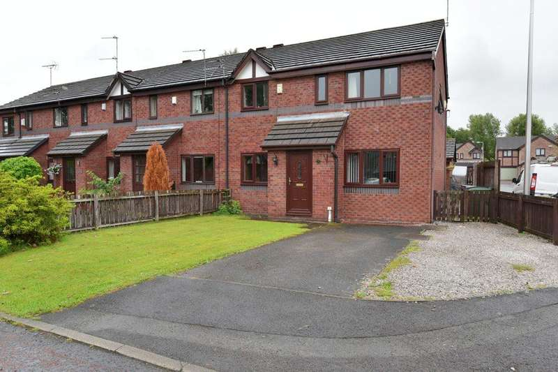 3 Bedrooms End Of Terrace House for sale in College Close, Heaviley, Stockport, SK2 6TJ