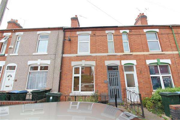 4 Bedrooms Terraced House for sale in Sir Thomas Whites Road, Chapelfields, Coventry