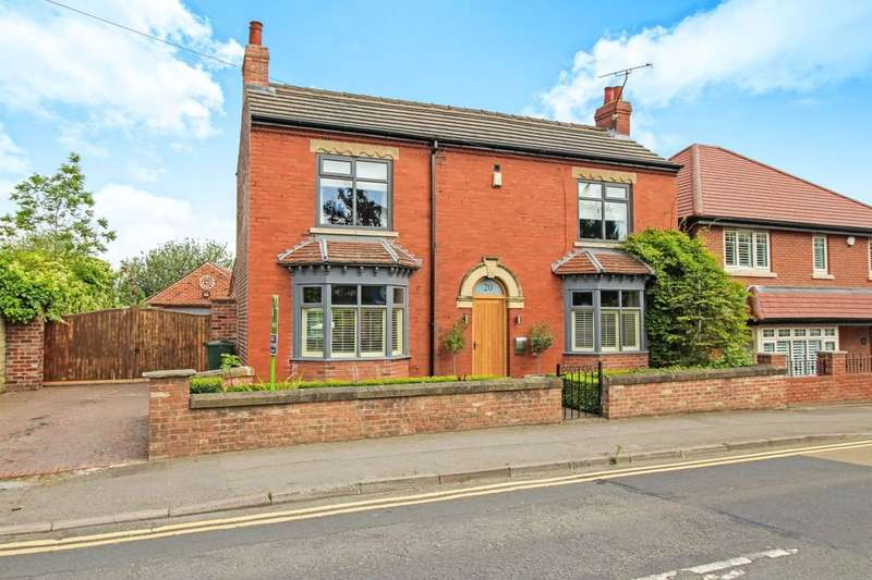 4 Bedrooms Detached House for sale in School Road, Wales, Sheffield, S26