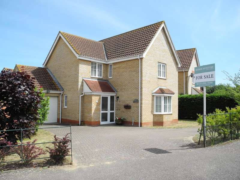 4 Bedrooms Detached House for sale in Pepys Avenue, Worlingham, Beccles, Suffolk